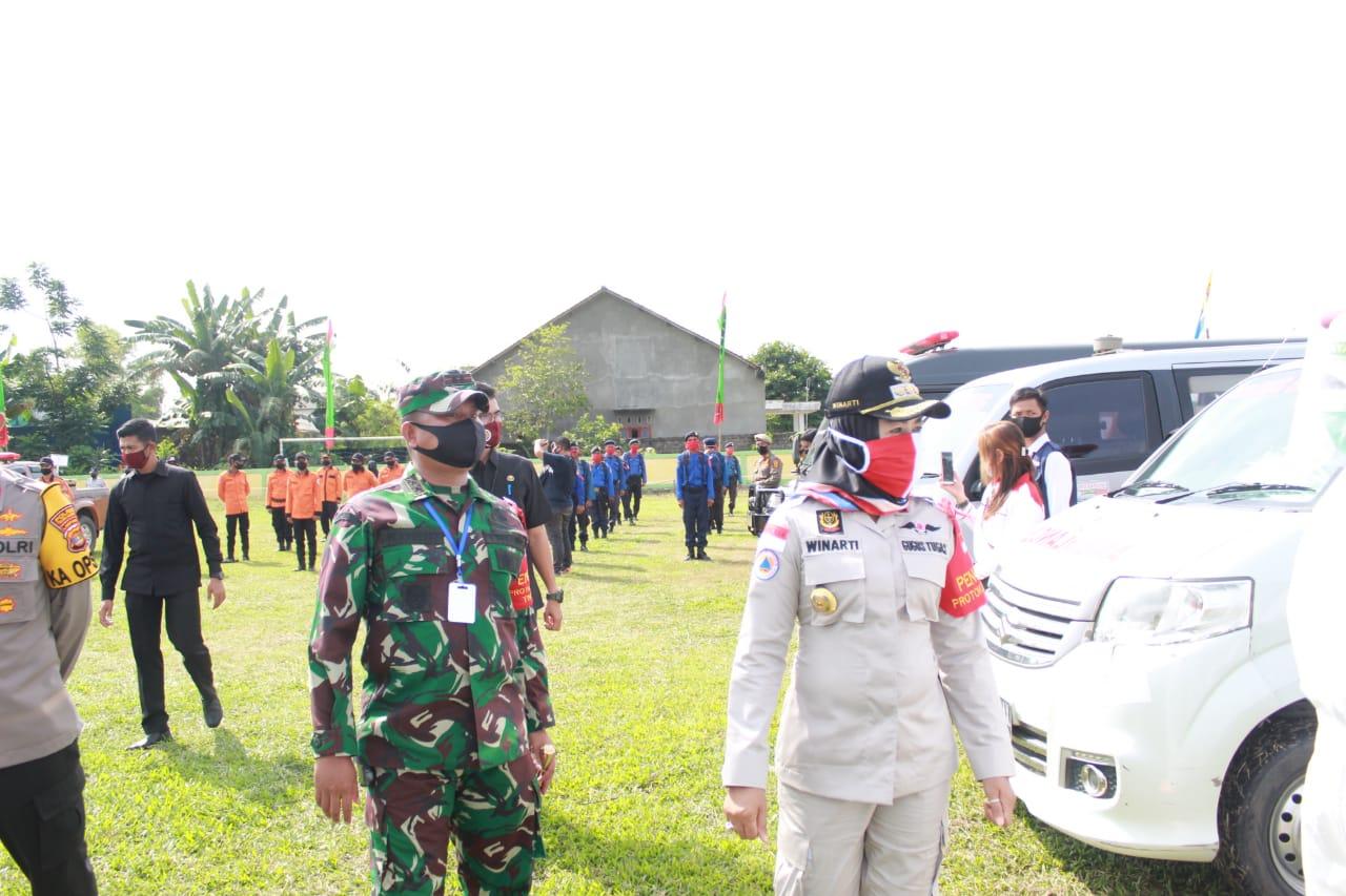Dandim 0426DansatgasnyaHadiri ApelGelar Pasukan Operasi Pendisiplinan Protokol Kesehatan
