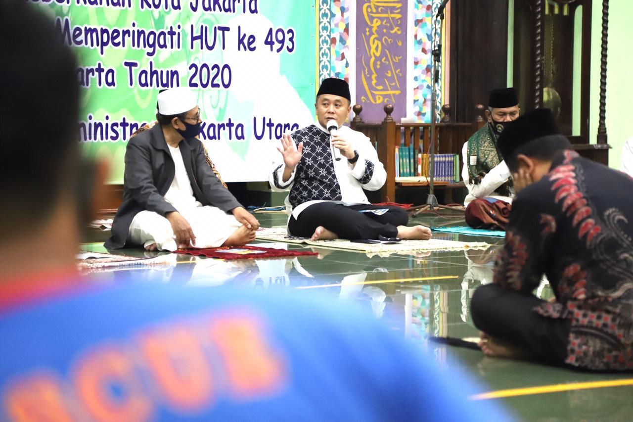 Peringati HUT DKI, Pemkot Jakarta Utara Gelar Dzikir dan Doa Bersama