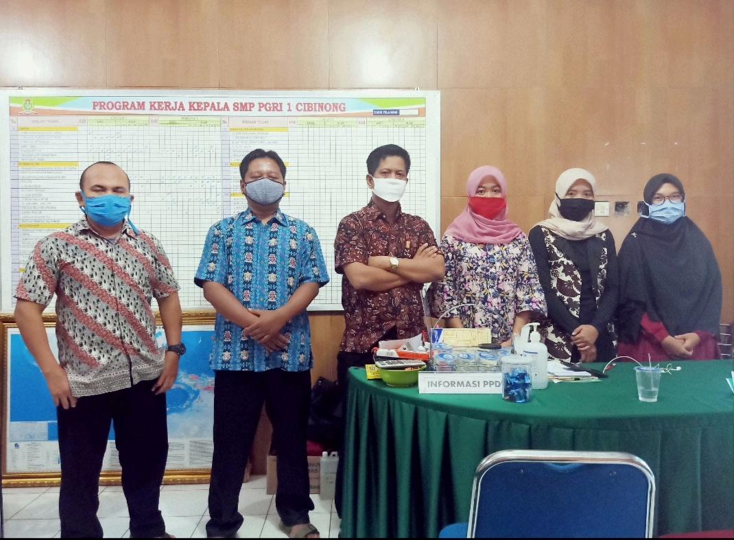 PPDB Ditengah Pandemi SMP PGRI 1 Cibinong Tetap Optimis