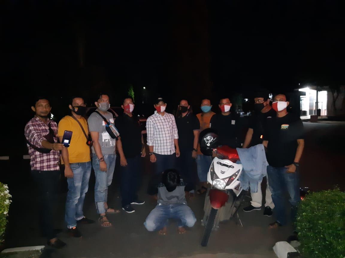 Sat Reskrim Polres Lampung Utara Kembali Ringkus Pelaku Curas Jambret
