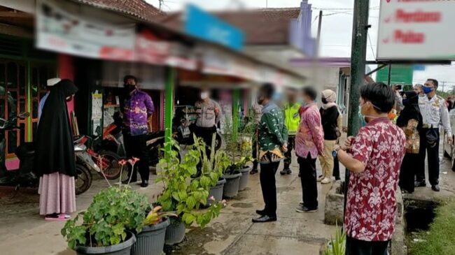 Warga Bandar Sakti Kecamatan Abung Surakarta Menolak Untuk di Rapid Test