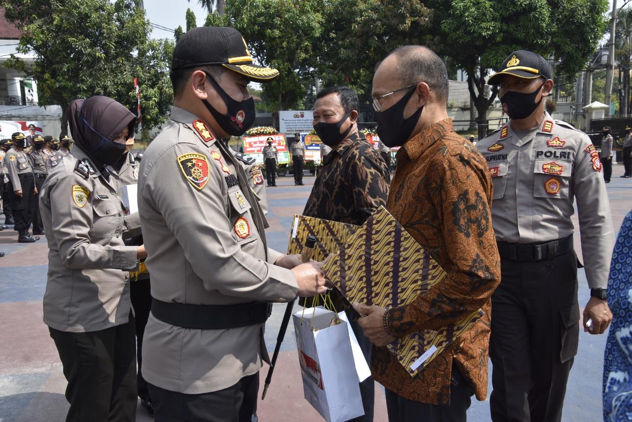 94 Personil Polres Bogor Dinaikkan Pangkat Setingkat Lebih Tinggi