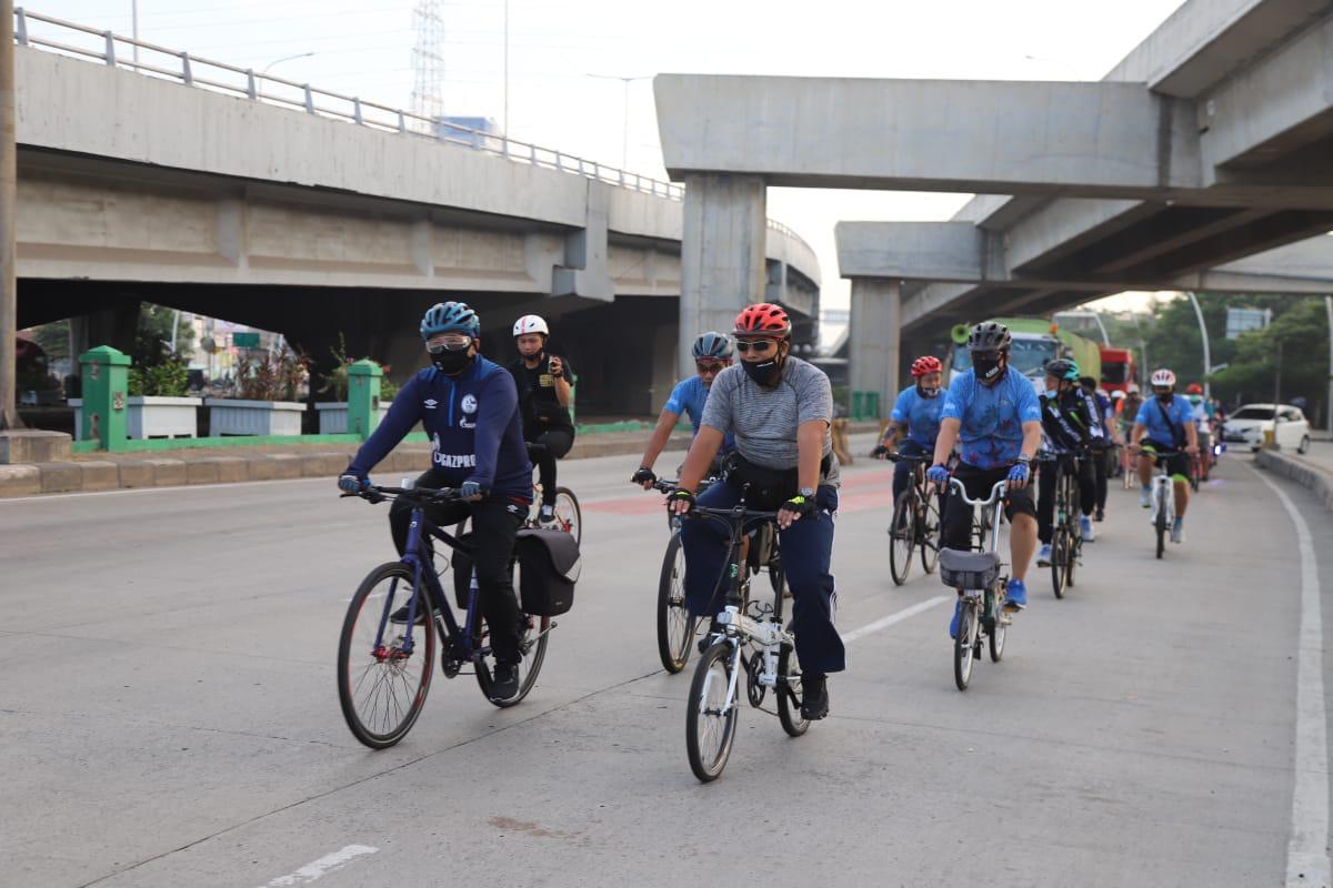 Tim Gowes Jakut Pantau Kawasan Olahraga Bersepeda