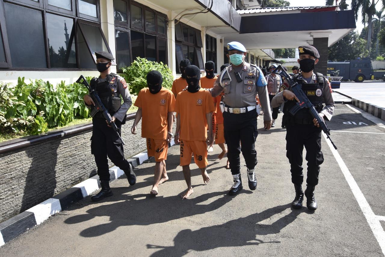 Satuan Reserse Narkoba Polres Bogor Berhasil Ungkap 15 Kasus Narkoba dan Bekuk 19 Tersangka