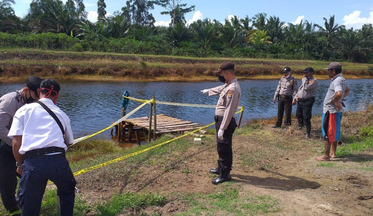 Polsek Rawa Pitu Identifikasi Penemuan Korban MD di Aliran Sungai Primer