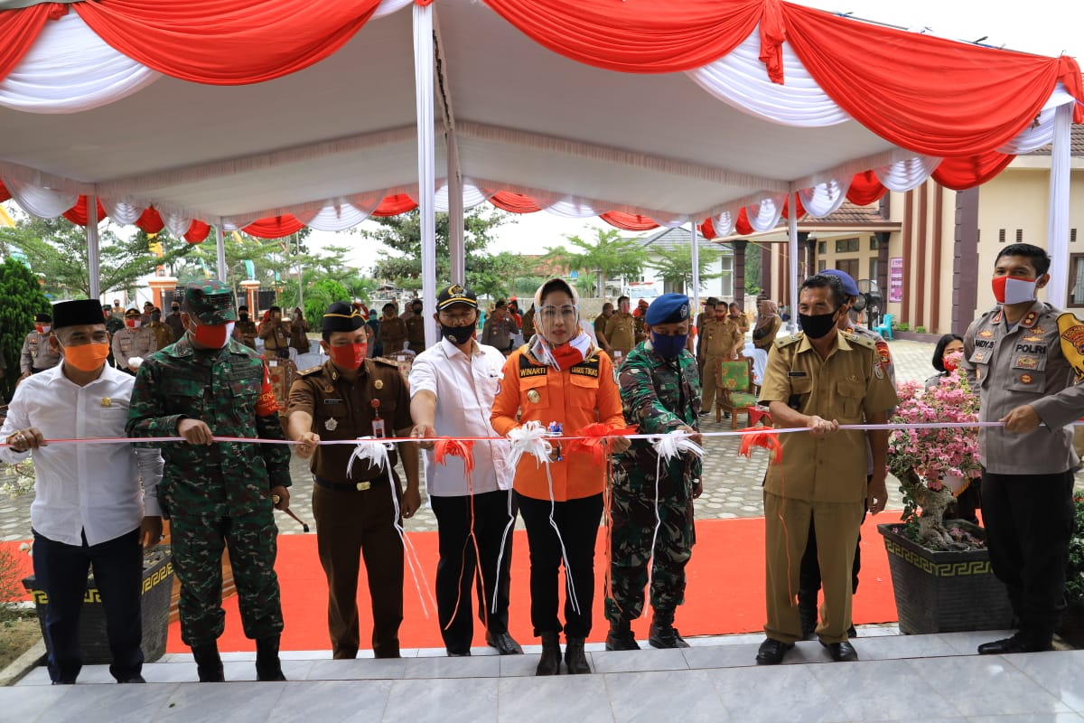 Ketua Gugus Tugas Covid-19 Resmikan Kampung Tangguh Nusantara