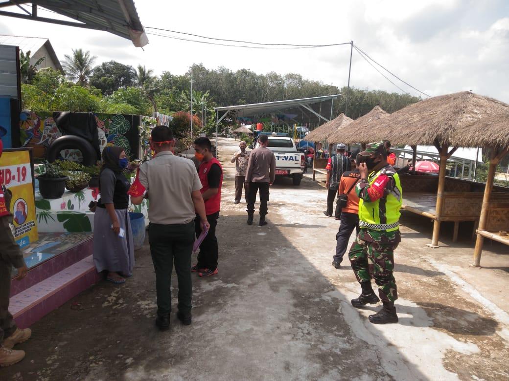 BPBD Kabupaten Tulang Bawang Operasi Penegakan disiplin Protokol Kesehatan