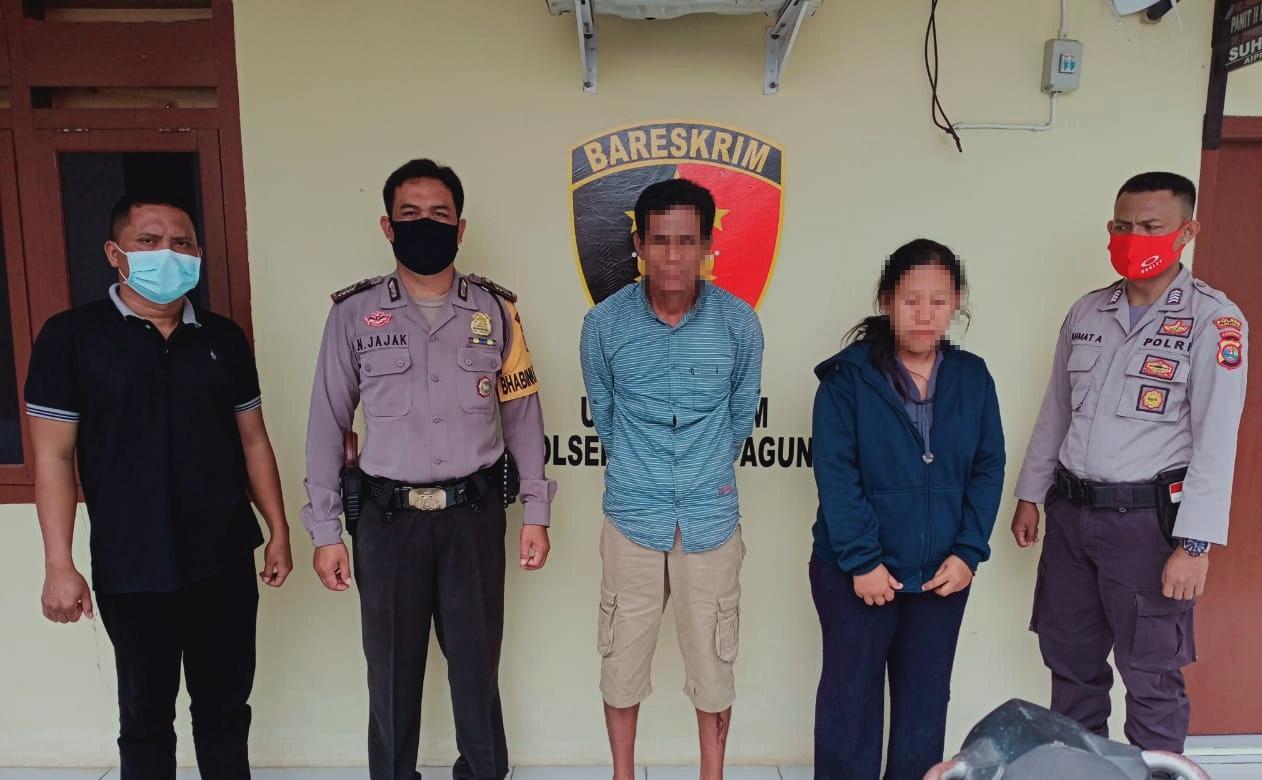Polisi Tangkap Dua Pelaku Curanmor di Kampung Bujuk Agung, Salah Satunya Istri Korban