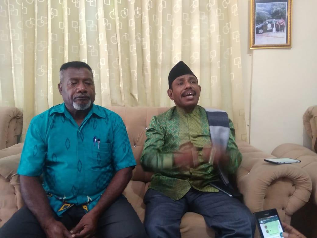 Ronald Apnawas BersamaUmar BauwSiap Menuju Perubahan Besar Untuk Masyarakat Kabupaten Keerom Propinsi Papua