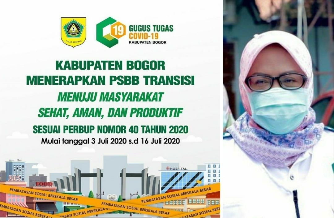Gugus Tugas Penanganan Covid-19 Kabupaten Bogor Terapkan PSBB Pada Masa Transisi Menuju Masyarakat Sehat