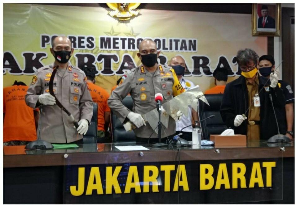 Polres Jakarta Barat Amankan Enam Orang Pelaku Terlibat Tawuran Dua Kelompok Remaja