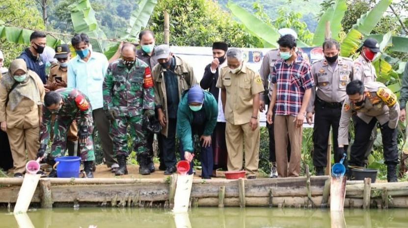 Kapolres Bogor, Bupati Bersama Dandim Resmikan Mulyasari Sebagai Lembur Tohaga Lodaya