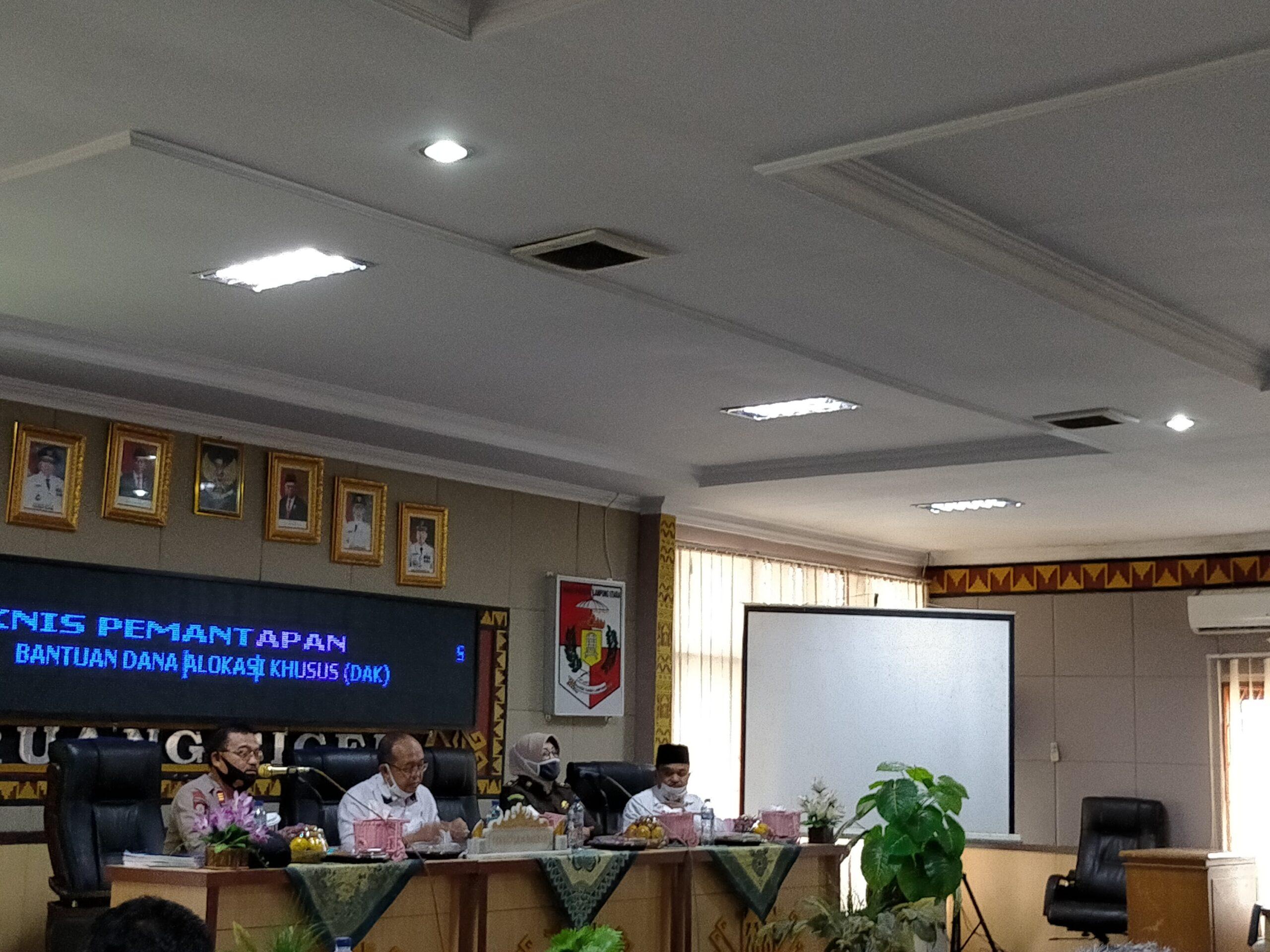 Disdikbud Lampung Utara Gelar Pemantapan Bantuan DAK Tahun 2020