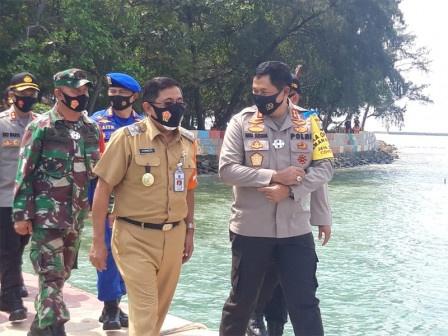 Kapolda Metro Jaya Kunker Ke Kepulauan Seribu