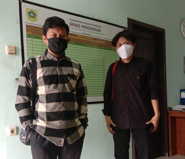 Dugaan Ada Pelanggaran Hukum di Dinas Pendidikan Kabupaten Bogor
