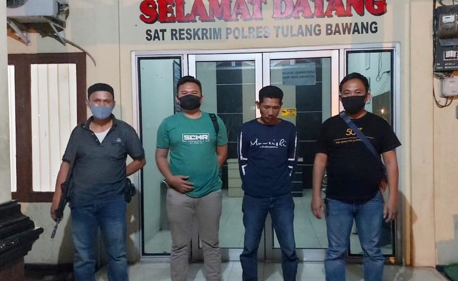 Curi Kayu Akasia Seluas 1,5 Hektar, Petani di Gedung Meneng Ditangkap Polisi