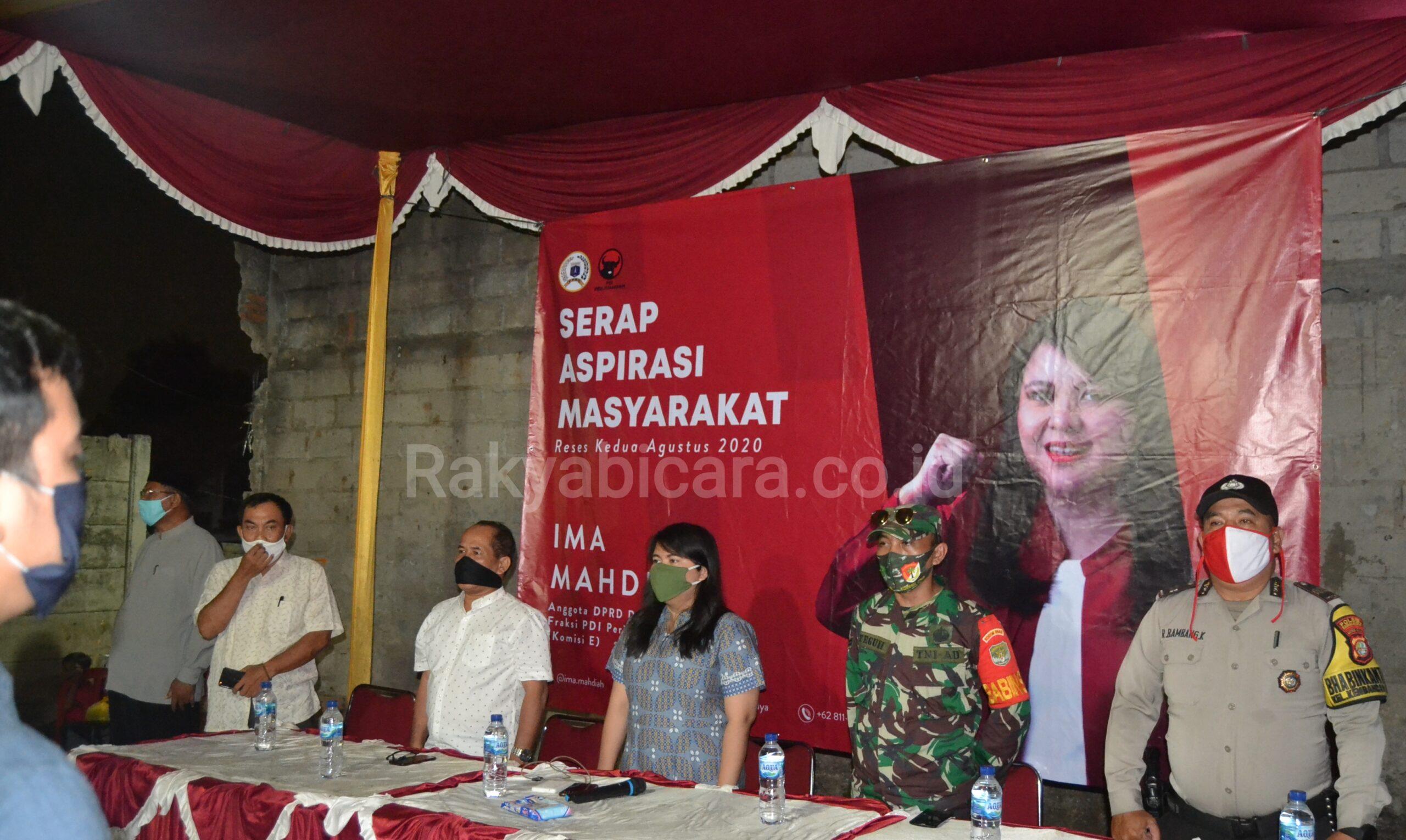 Reses Ke 2 Anggota DPRD Provinsi DKI Jakarta, Ima Mahdiah Kunjungi Kembangan Selatan
