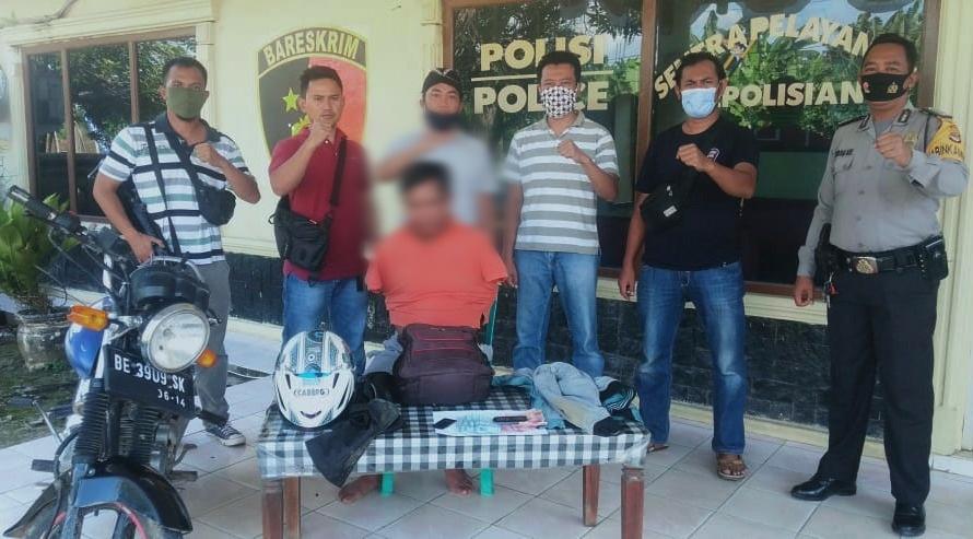 Polisi Tangkap Pelaku Curas di Kampung Tunggal Warga, Kompol Rahmin : Modusnya Ngaku Polisi Dari Polsek Unit 6