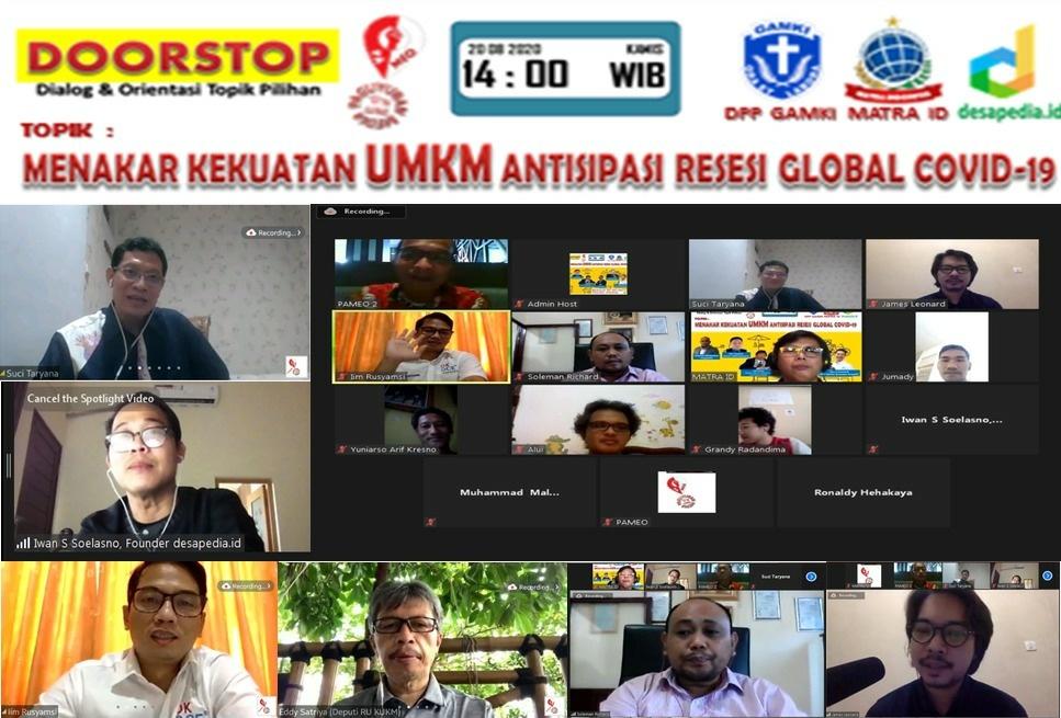Hari Nasional UMKM : Perlu Kolaborasi UMKM Dan Bum Desa