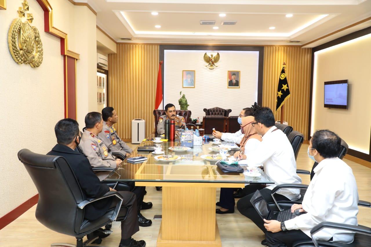 Audensi Bersama BKPM, Komjen Pol Agus Andrianto Tegaskan Polri Dukung Kebijakan Pemerintah Percepat Perizinan Berusaha
