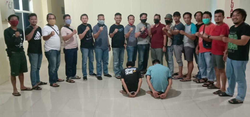 Tipu Korban Mengaku Polisi, Dua Orang Pelaku Diamankan Team Gabungan Polres Lampung Utara dan Polda DIY
