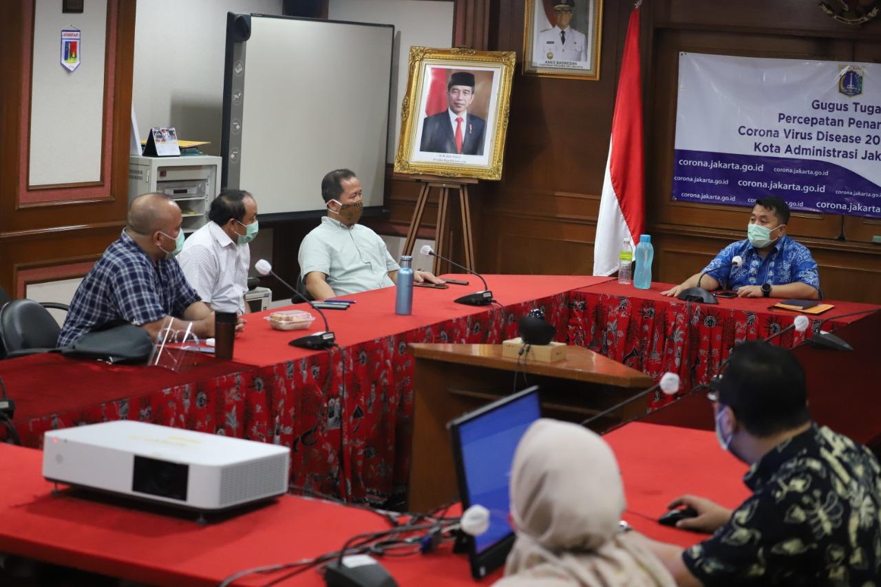 PSBB, Warga Jakarta Utara Diminta Beraktifitas di Rumah