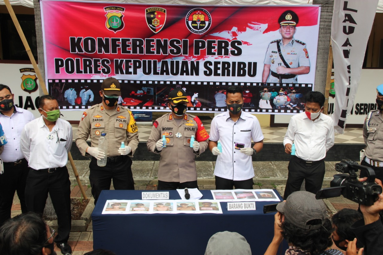 Hisil Visum 5 Orang (ABK) KM Starindo Jaya Maju VI, Meninggal Dunia Akibat Miras Oplosan