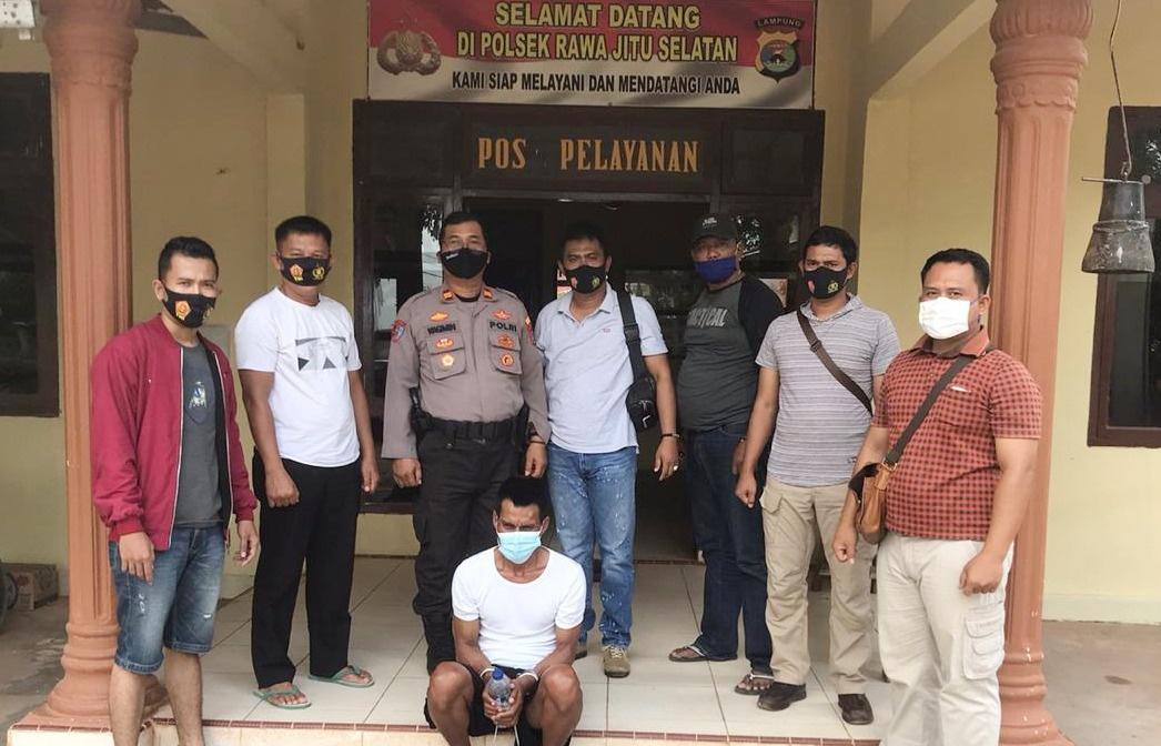 Lari dan Bersembunyi di Perairan Tulang Bawang, Pelaku Utama Perompakan Kapal di Jambi Ditangkap Polisi