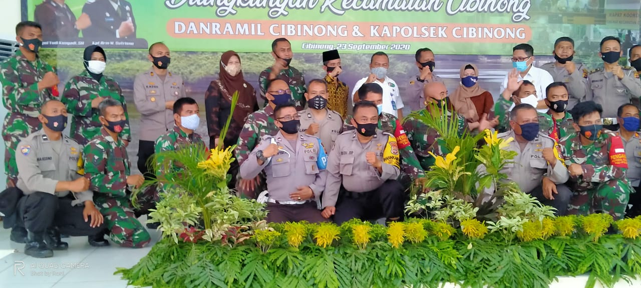 Lepas Sambut Pejabat Dilingkungan Kecamatan Cibinong