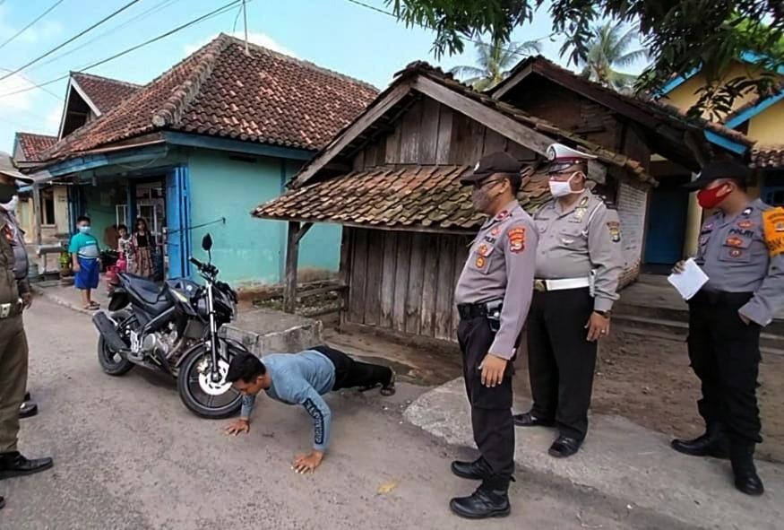 Lima Warga Menggala Terjaring Operasi Yustisi Yang Digelar di Dua Lokasi