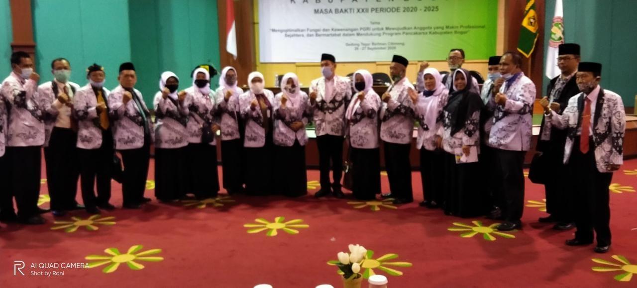 Konferensi PGRI Kabupaten Bogor periode 2020-2025