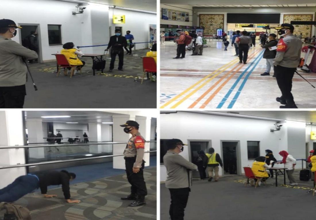 Bandara Soekarno-Hatta, Kapolresta Turun Langsung Pimpin Ops Yustisi