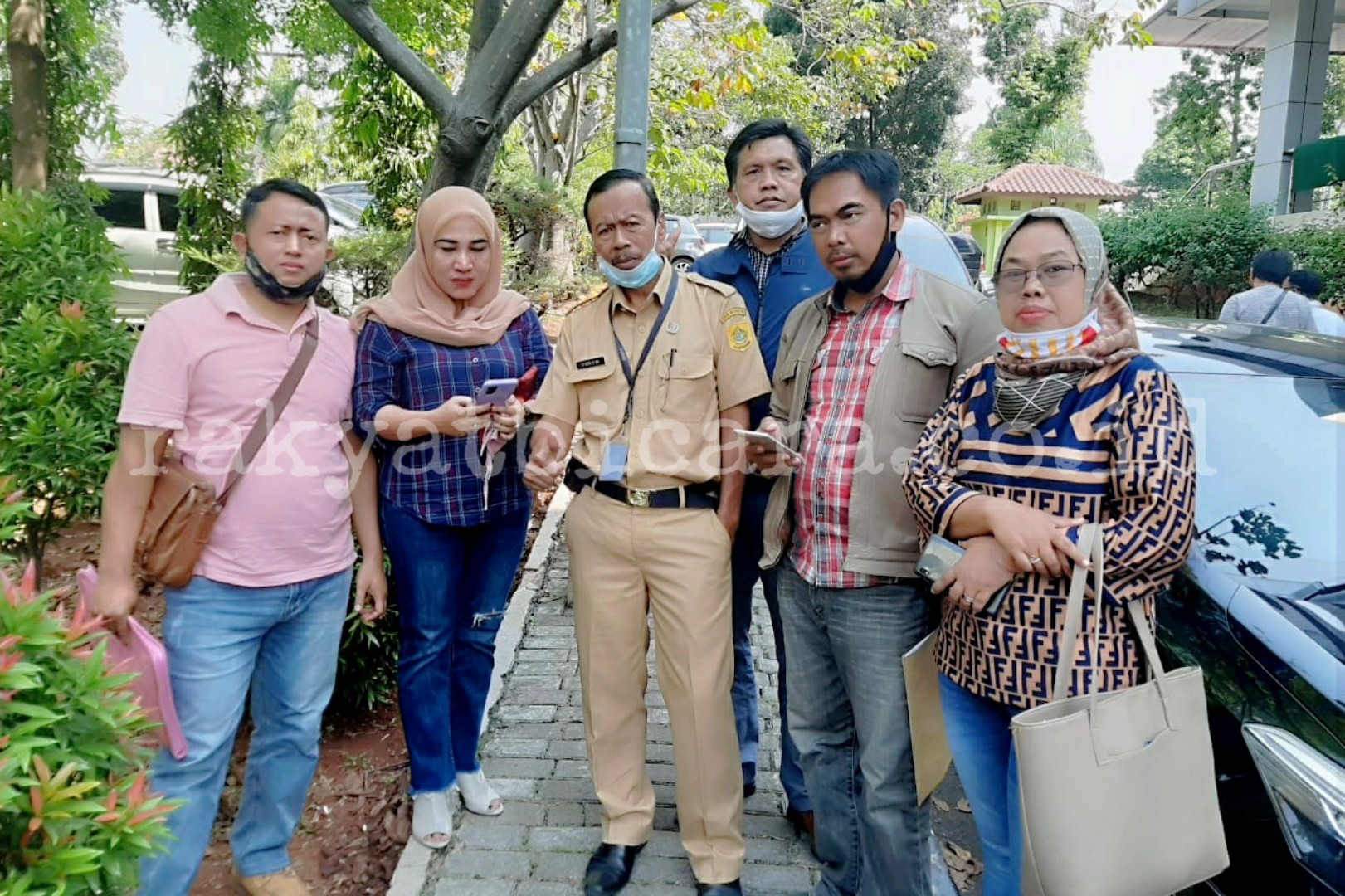 Ahli Waris Somasi Kepala Desa Dramaga, Terkait Surat Keterangan Waris