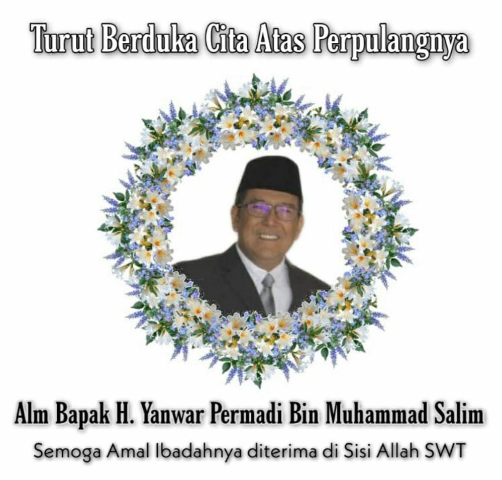 Pimpinan dan Staf Media Rakyatbicara Menyampaikan Turut Berduka Atas Wafatnya Almarhum H. Yanwar Permadi