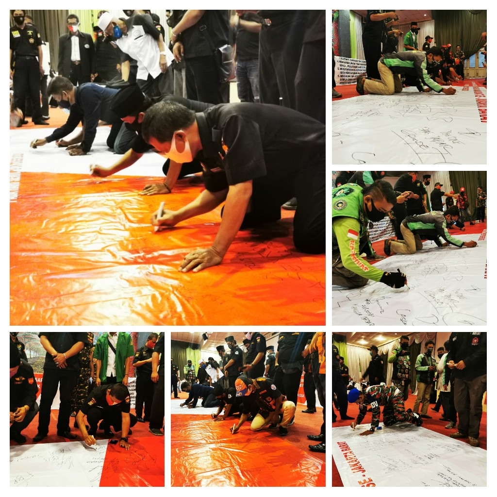 Gelar Deklarasi Damai Anti Anarkisme Bersama Elemen Masyarakat Di Jakarta Barat