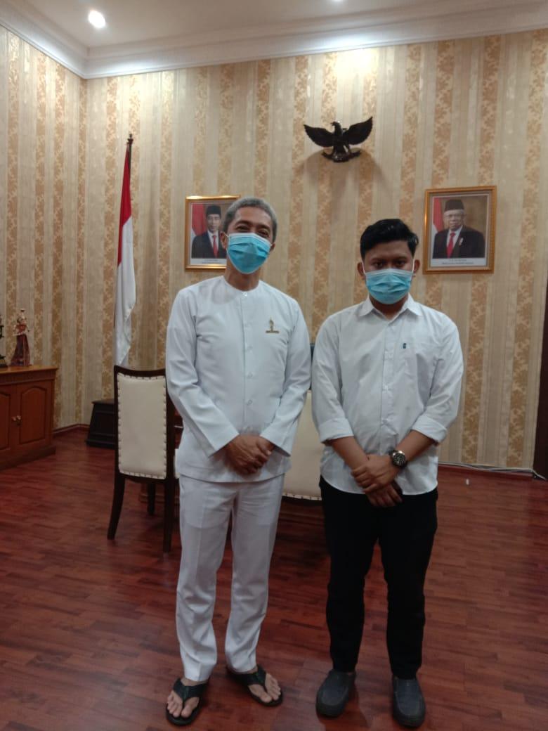 Giri, Wakil Wali Kota Bogor Jalin Sinergitas Dalam Percepatan Penanggulangan Covid19