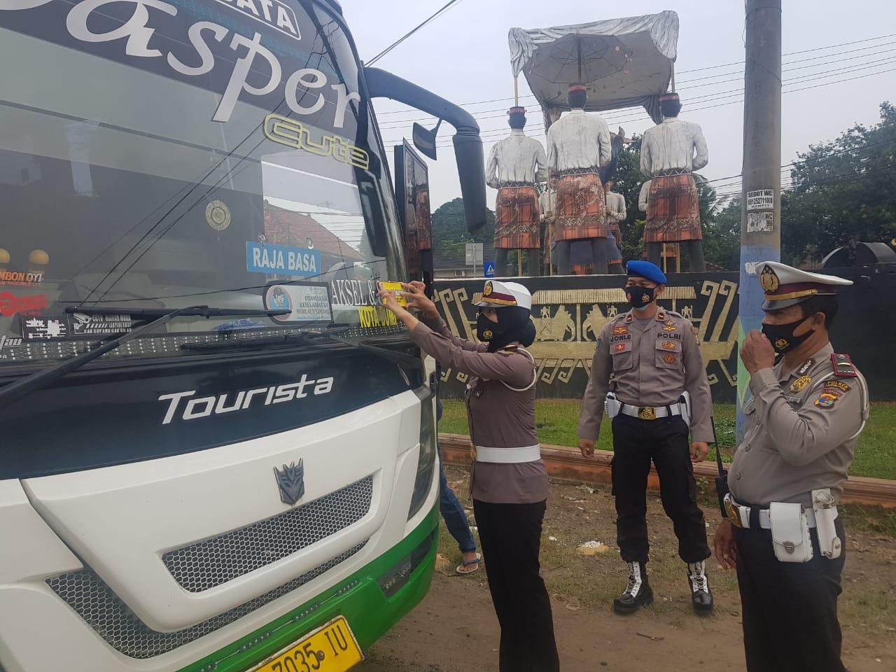 Polres Lampung Utara Gelar Operasi Yusitisi 28 Orang Terjaring Tidak Menggunakan Masker
