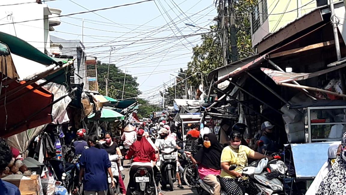 Marak PKL Di Kalibaru Cilincing Memprihatinkan Melanggar Protokol Kesehatan