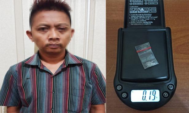 Simpan Narkotika di Kantong Saku Baju, Oknum Honorer Sat Pol PP Ditangkap Polres Tulang Bawang