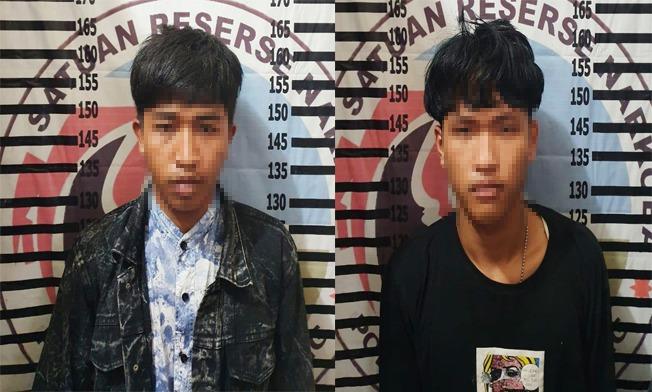 Polisi Tangkap Dua Pemuda Asal Menggala Yang Membawa Narkotika