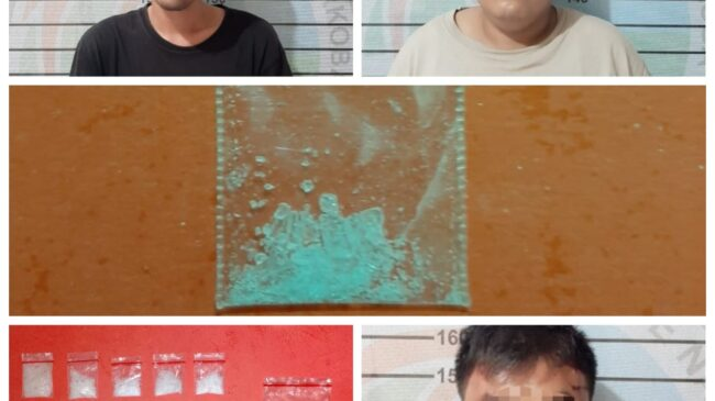 Lagi Asik Pesta Narkoba, Tiga Pelaku Ditangkap Satres Narkoba 1 Diantaranya Oknum PNS
