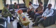 Pembangunan Kantor Koramil, Dandim 0426/TB Terima Surat Hibah Warga Kp. Gunung Tanpa IIir