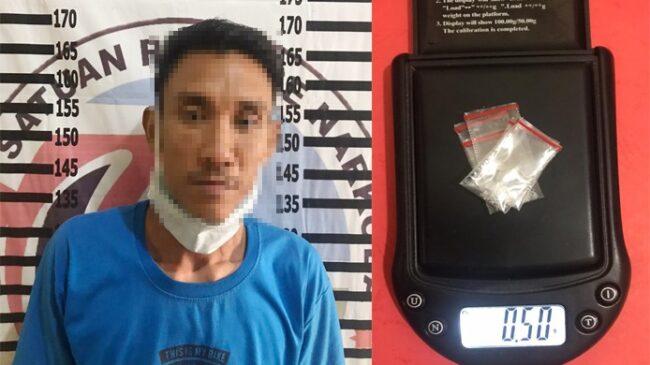 Satresnarkoba Polres Tulang Bawang Tangkap Pengedar Narkotika di Menggala