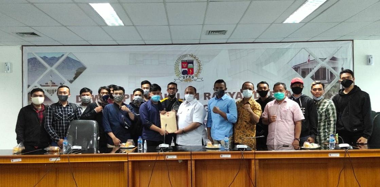 Giri Dan DPRD Kota Bogor Sepakat Dalam Penolakan UU Omnibuslaw Cipta Lapangan Kerja