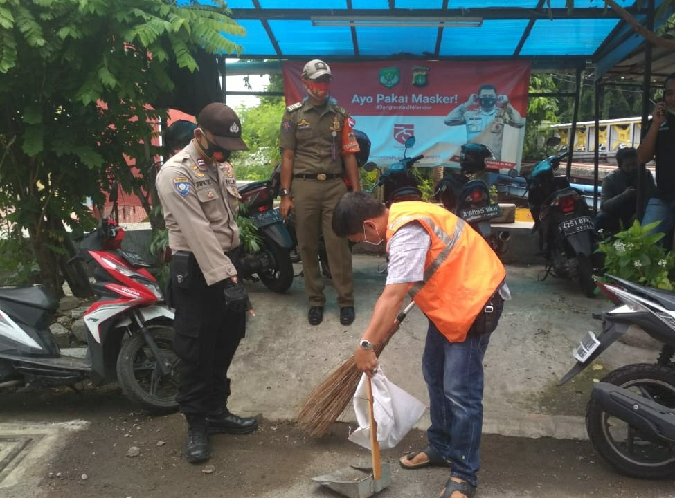 16 Pelanggar Terjaring Dalam Ops Yustisi di Tambora Jakarta Barat