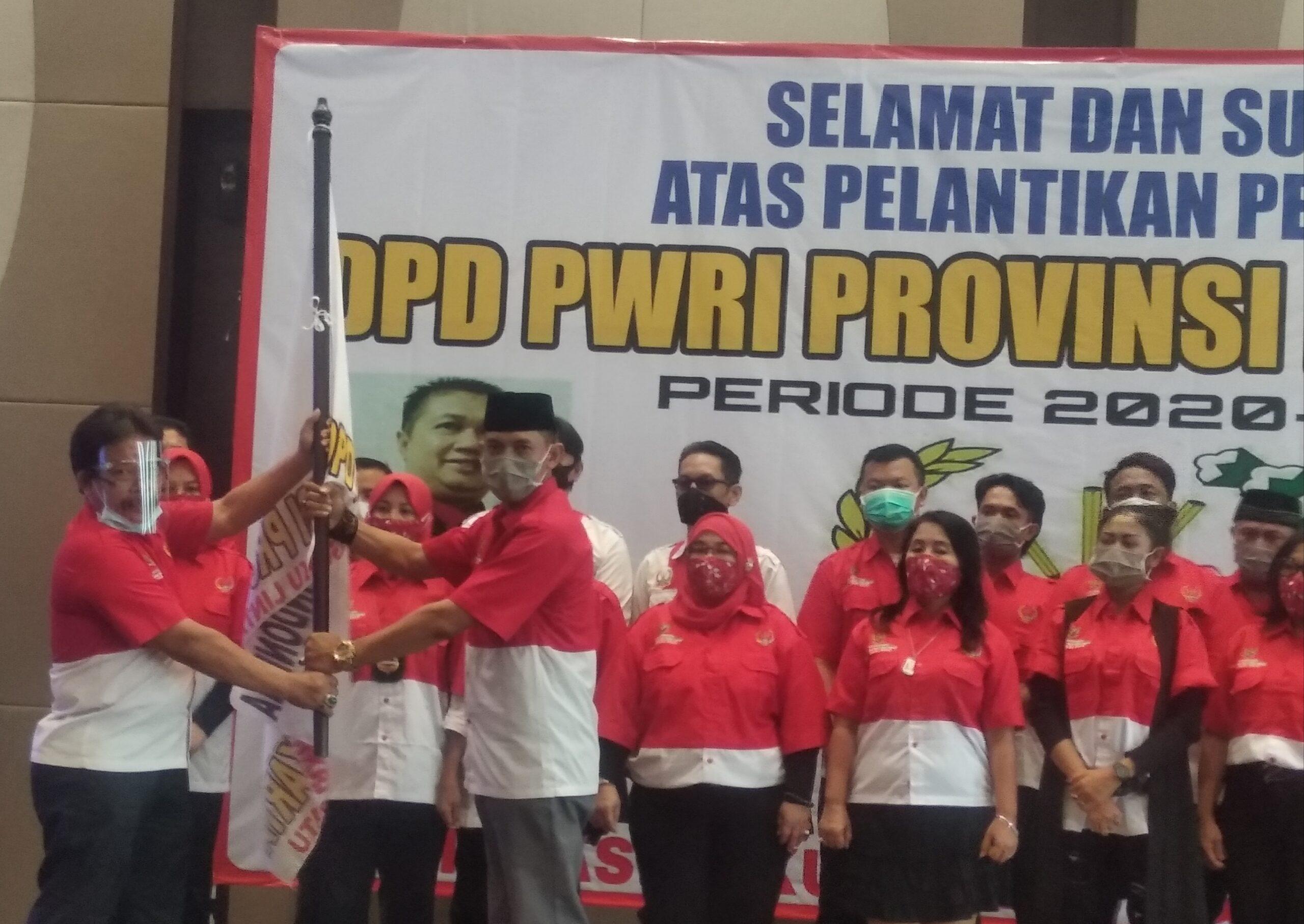 Hari Ini Pengurus DPD PWRI Provinsi DKI Jakarta Periode 2020-2024, Resmi Dilantik DPP PWRI