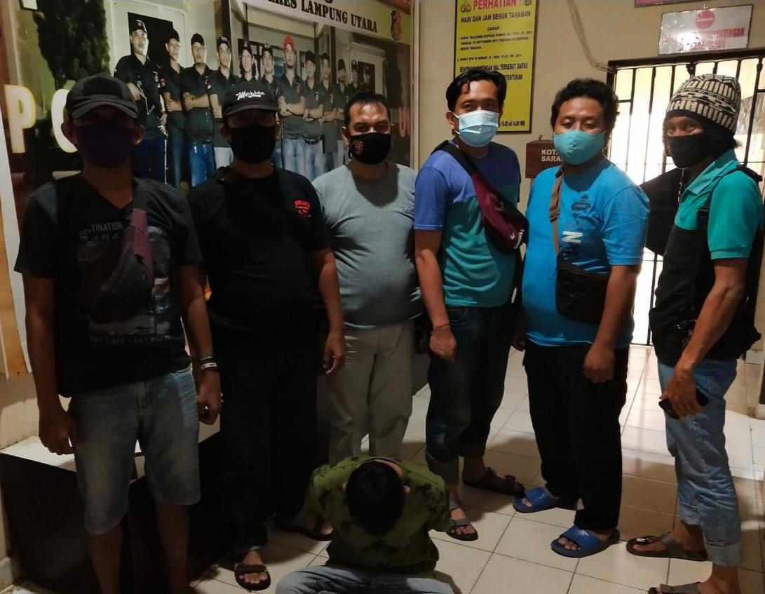Masuk DPO, 308 Sat Reskrim Polres Lampung Utara Kembali Bekuk Tersangka Curas