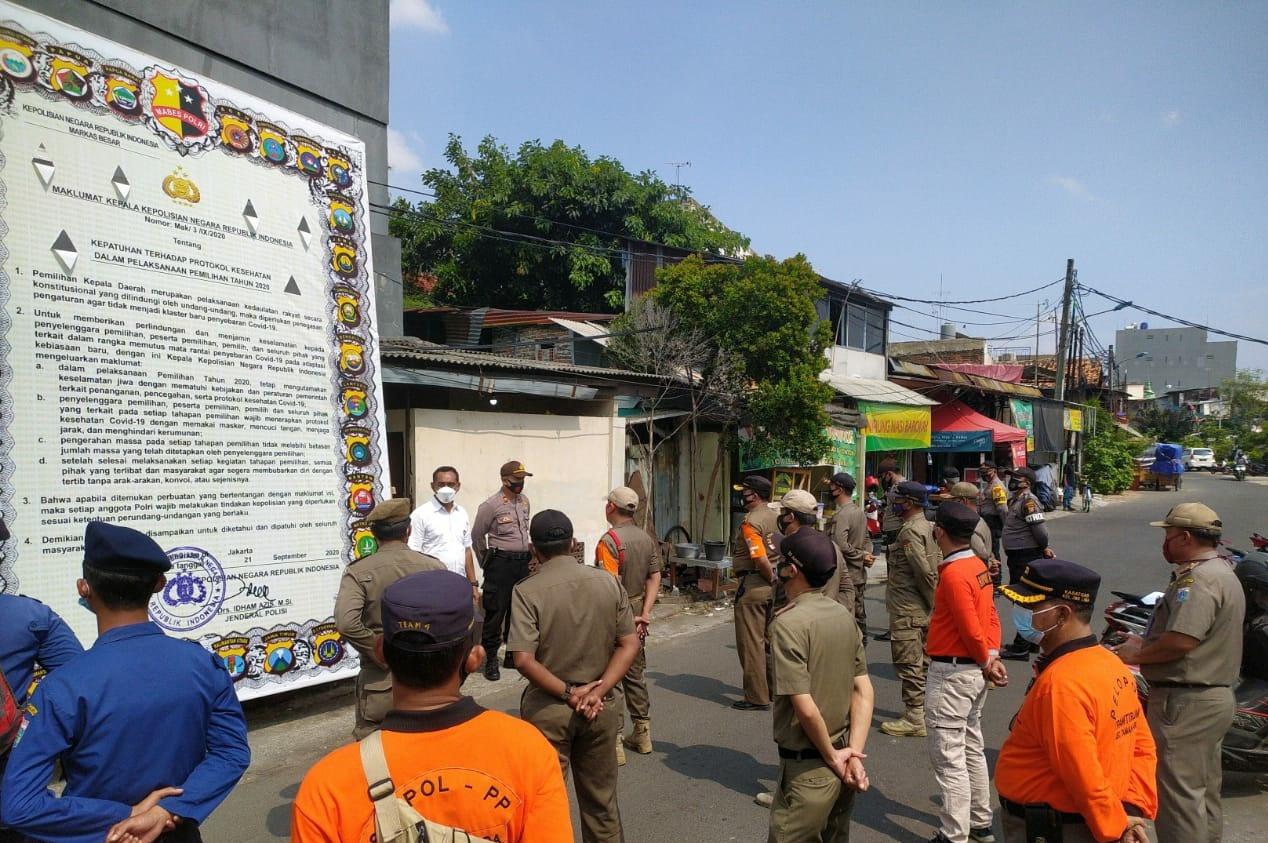 11 Pelanggar Prokes ditindak Sosial di tanah Sereal Tambora