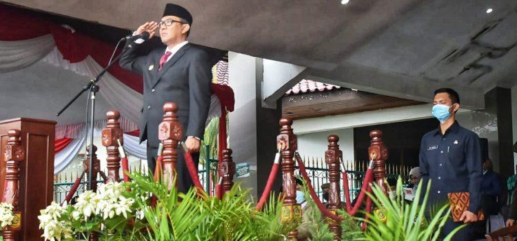 Lanjutkan Perjuangan Para Pahlawan, Wabup Himbau Dalam Upacara Hari Pahlawan Tingkat Kab. Bogor