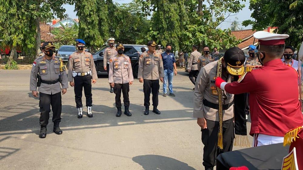 Polres Lampung Utara Abung Terima Kunjungan Kerja Wakapolda Lampung